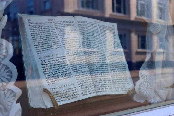 Scriptures Northumberland Hall Margate © Lavender's Blue Stuart Blakley