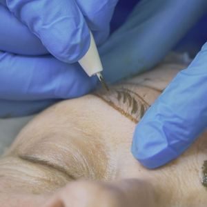 Microblading Application Process