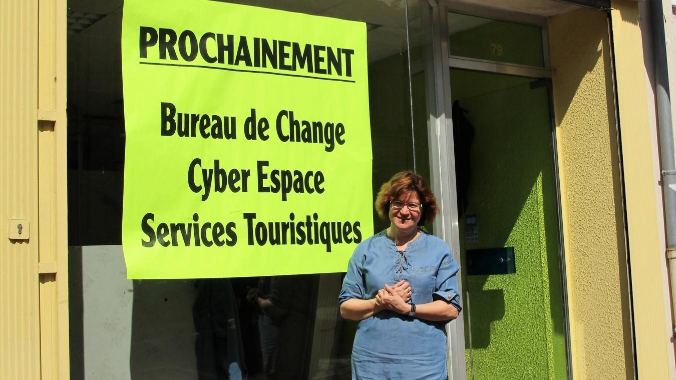 francoise chatillon est deja proprietaire avec son mari de plusieurs bureaux de change a