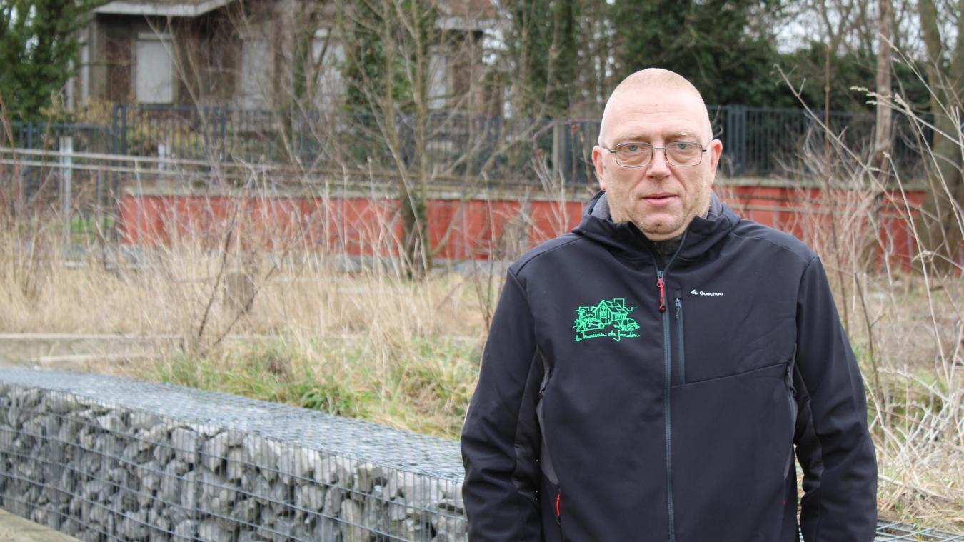 Laurent Hollain s'implique à la Maison du Jardin, depuis sept ans maintenant.