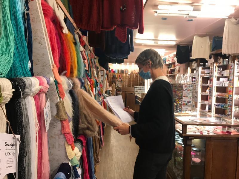lille boutiques de tissus et merceries sont ouvertes mais c est coton