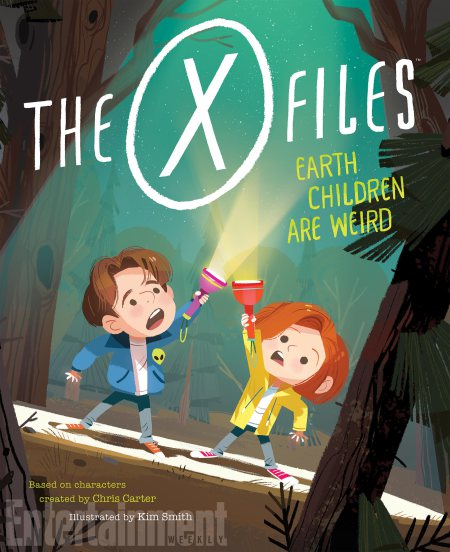The X-Files: Earth Children Are Weird : un livre jeunesse à paraître