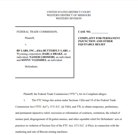 FTC Lawsuit Document