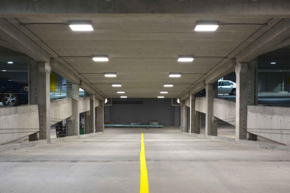 parking garage lighting parking garage