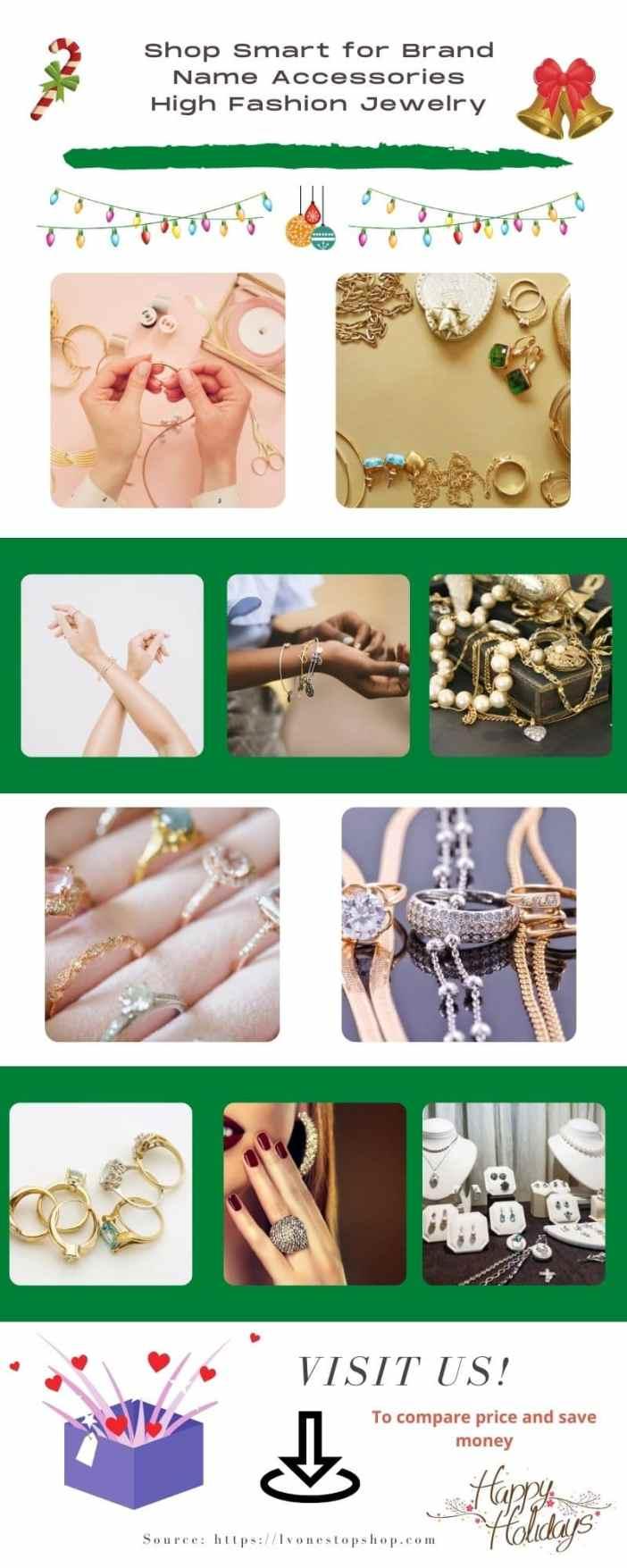 High Fashion Jewelry and shop smart