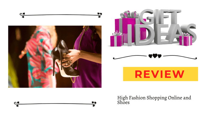 High Fashion Shopping Online and Shoes report