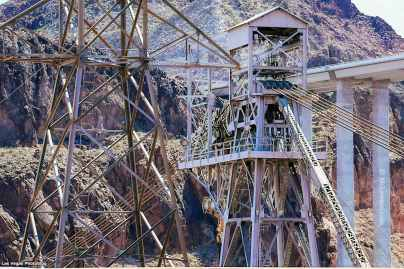 Original steel tower