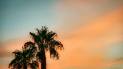 Another Las Vegas sunset sky