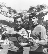 William Shatner and Leanard Nimoy, TOS