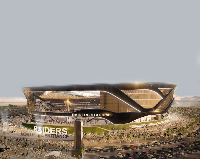 rendering of stadium