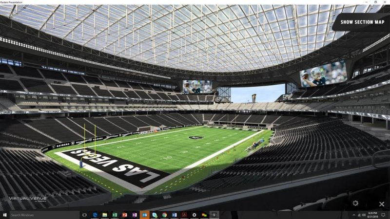 Raiders Fans In Las Vegas Seeking Reserved Seats Get Look At Seat ...