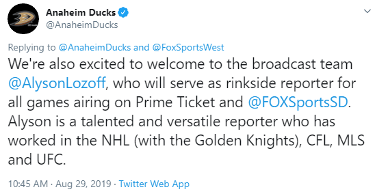 Golden Knights Hire TV Studio, Rinkside Broadcasters To