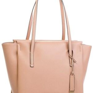 Calvin Klein dámska kabelka Frame Large Shopper púdrová