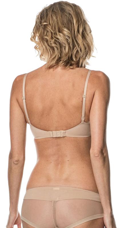Calvin Klein podprsenka Plunge Push-Up telová