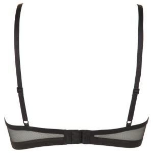 Calvin Klein podprsenka Sculpted Triangle Unlined 001 čierna