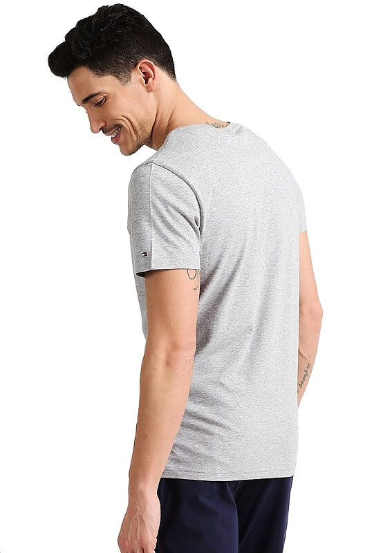 Tričko Tommy Hilfiger Icon SS Tee Logo šedé