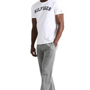 Pánske tričko Tommy Hilfiger Icon SS Tee Logo biele 100