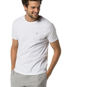 Tommy Hilfiger tričko CN Tee SS Icon 100