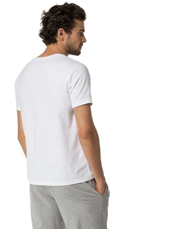 Tommy Hilfiger tričko CN Tee SS Icon 100 1