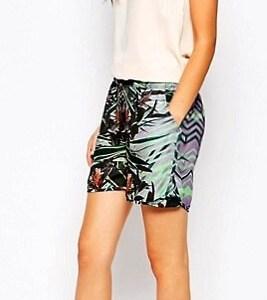 Y.A.S dámske šortky/ krátke nohavice Tropical Short