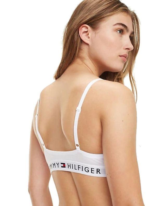 Podprsenka Tommy Hilfiger T-Shirt Bra biela 100