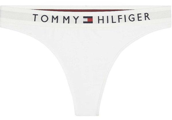Tommy Hilfiger tangá Tommy Original biele