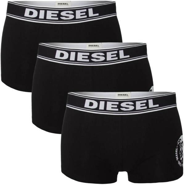 Boxerky Diesel 3 pack čierne