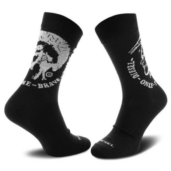 Ponožky Diesel 3 Pack Sock Ray čierne