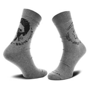 Ponožky Diesel 3 pack Sock šedé