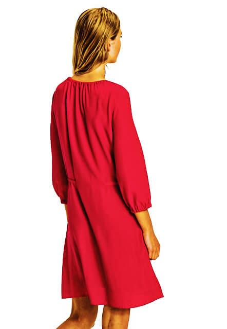 Šaty Tommy Hilfiger Haren Dress červené 7