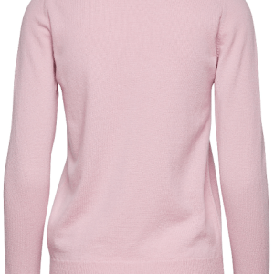 Dámsky pulóver Gant Superfine Lambswool Pink Caifornia