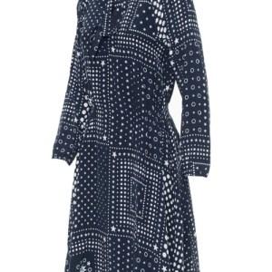 Hodvábne šaty Tommy Hilfiger Honor modré 1