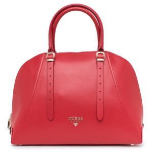 Kožená kabelka Guess Luxe červená 1