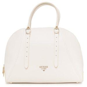 Dámska kožená kabelka Guess Luxe ivory 1