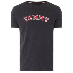Tričko Tommy Hilfiger CN SS Tee Logo UM0UM01623 091 šedé