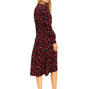 Tommy Hilfiger šaty TJW Floral Printed Wrap Dress__02