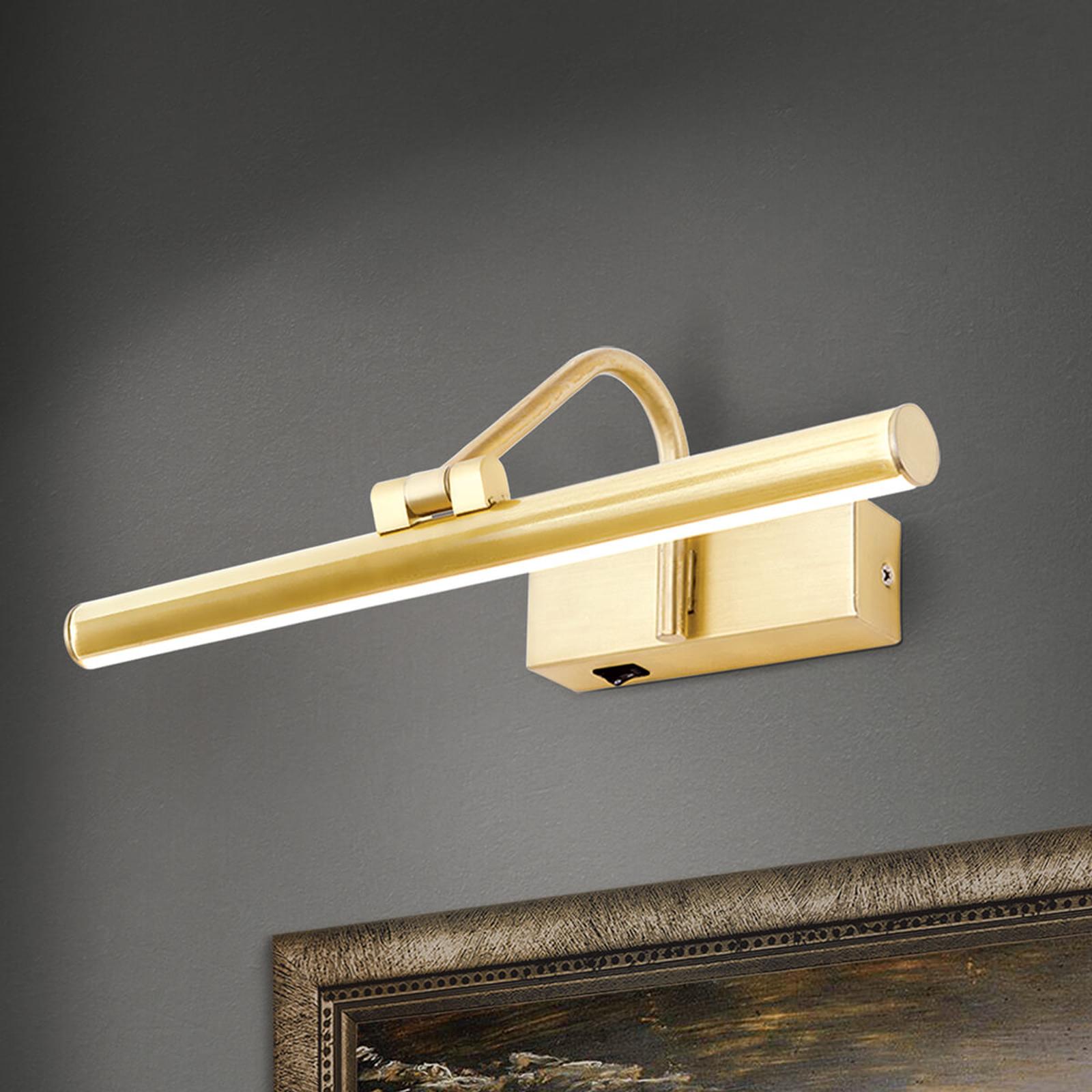 applique pour tableau led sofia doree 30 cm