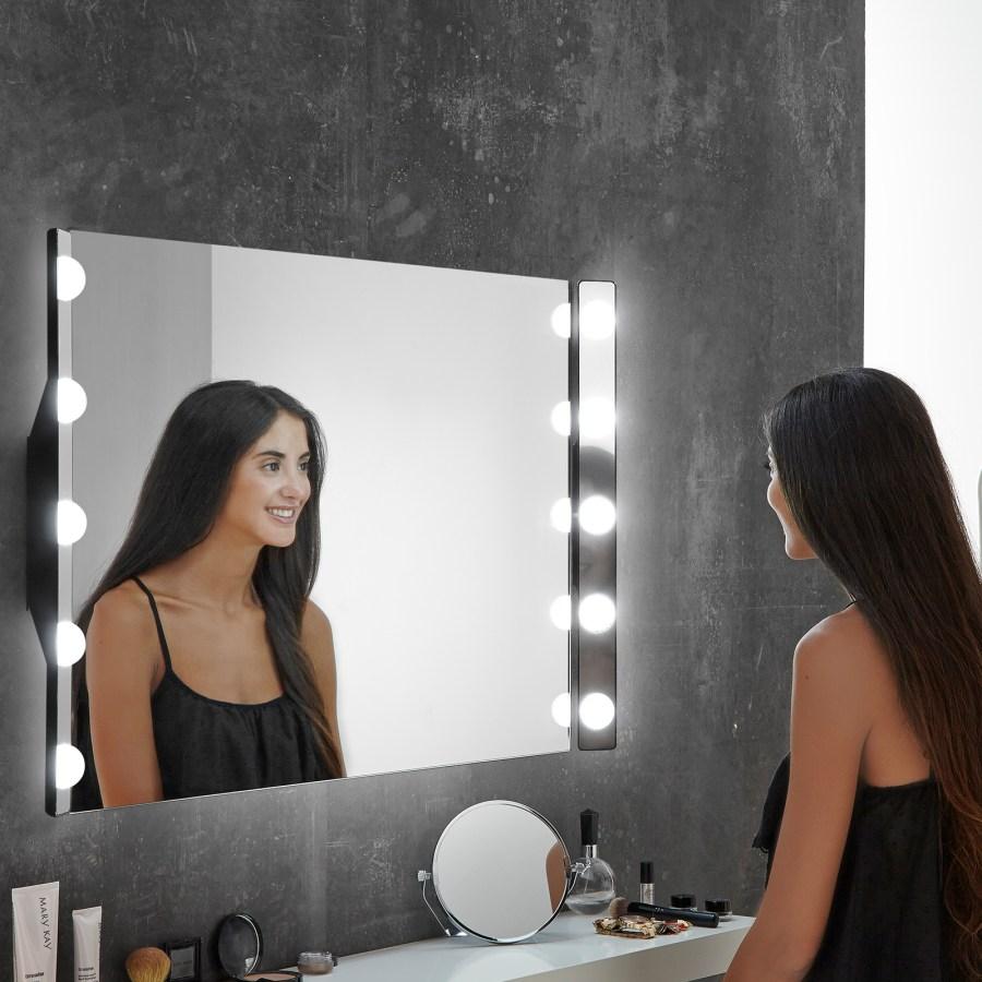 Luce per specchio a LED Hollywood, 60 cm 5 luci
