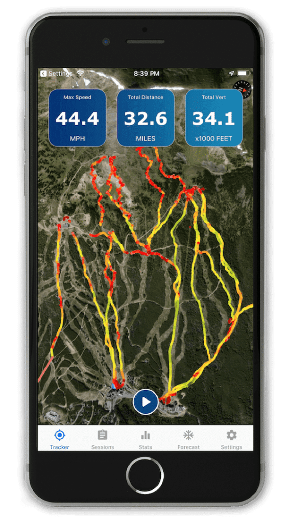 Weather App Ski Tracker Snow Forecast