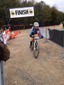 2014 Snake Creek Gap Time Trial Finish Line