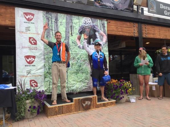 Men Sport 30 – 39, 2nd Winter Park Epic King of the Rockies