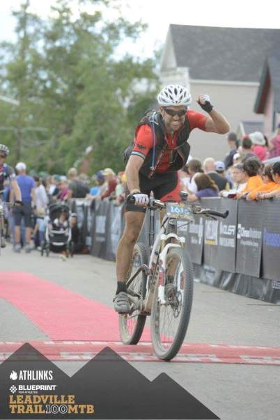 2015 Leadville 100 Finish Lineby Stephen Winchester