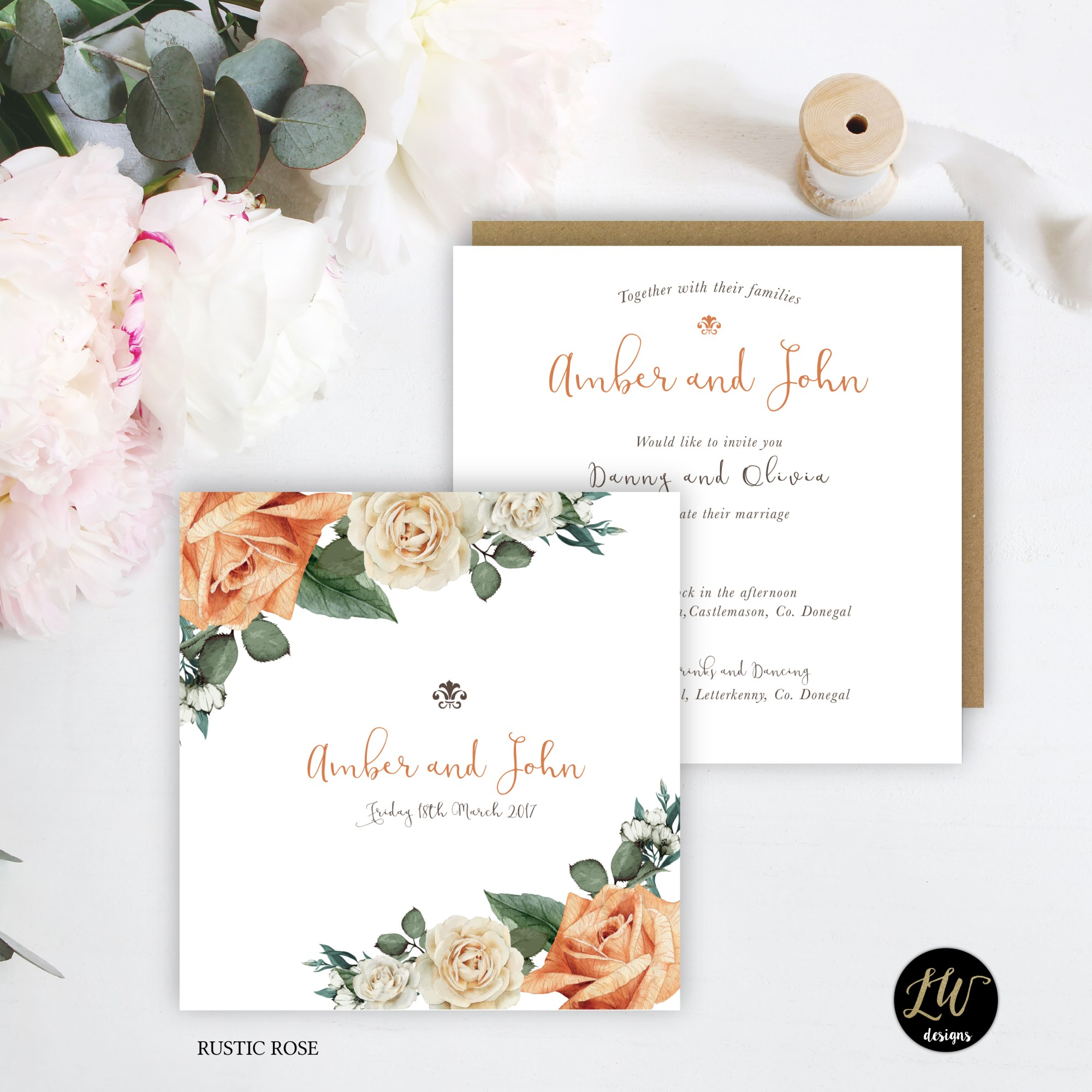 IH Collection Rustic Rose