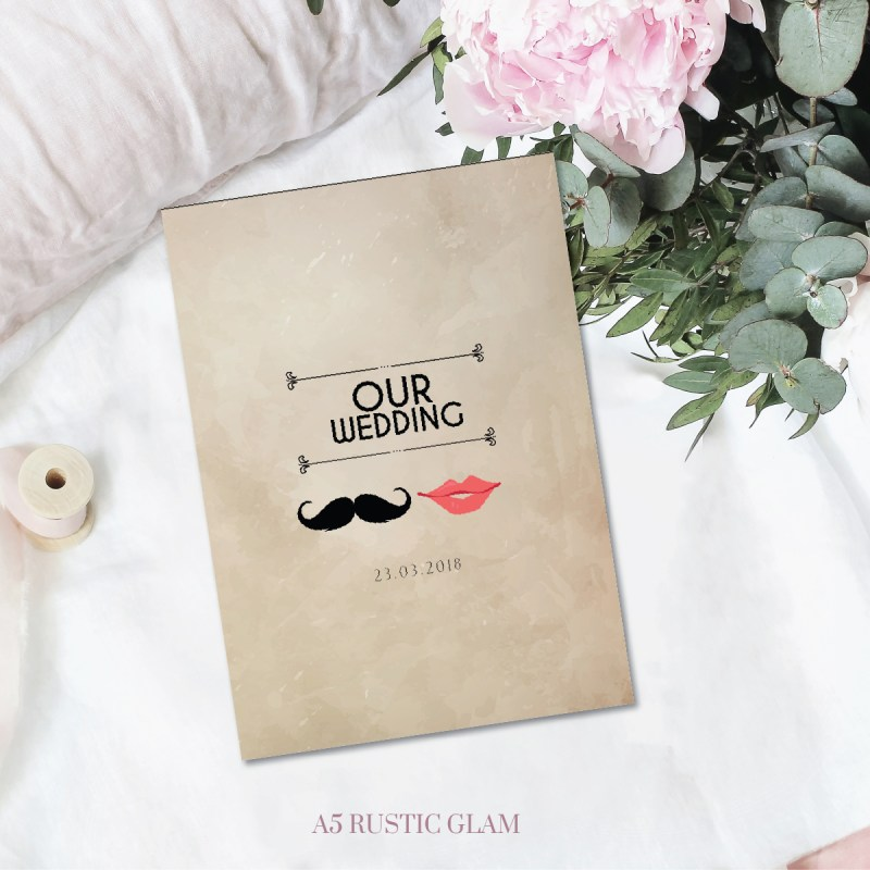 Bridal Book Rustic Glam