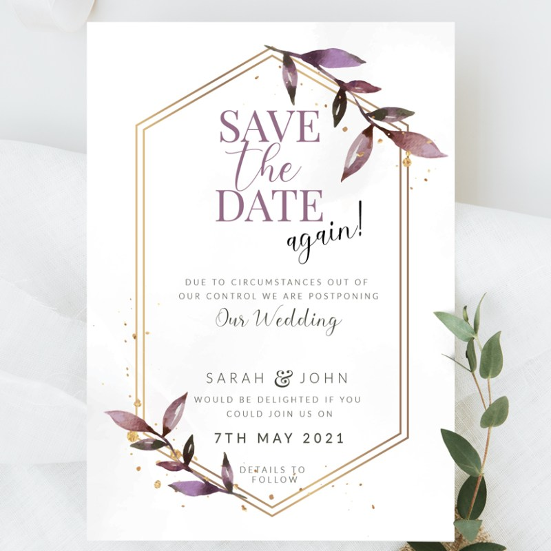 Save the Date [postponed]