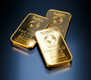 Invest - Picture of Gold bars
