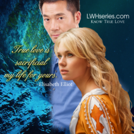 True love is sacrificial my life for yours Elisabeth Elliot LWHserie.com - Know True Love Picture of Asian man and young woman