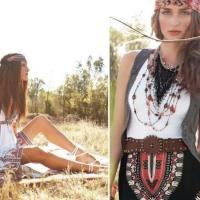 2 ways to wear Boho style