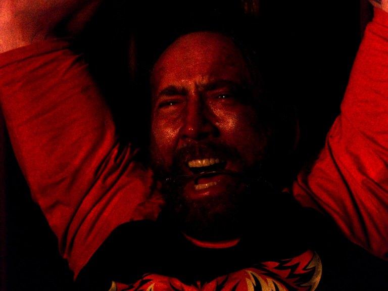 Nicolas Cage in Mandy (2018)