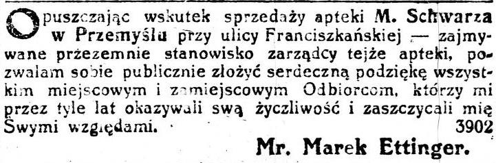 Gazeta wieczorna 4 list. 1912